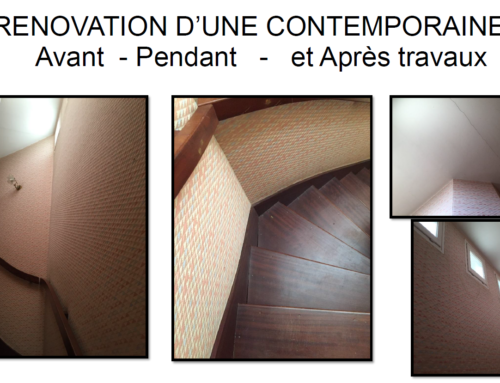 Rénovation de A à z d'une belle contemporaine angevine