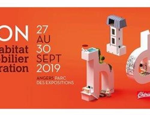 Couleurs des Mauges présent au salon de l'Habitât , du Mobilier et de la Décoration du 27 au 30 Sept 2019