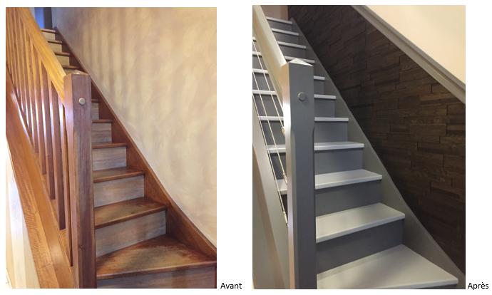Relooking Escalier